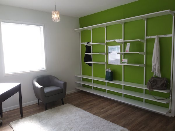 Music and Me Waiting Area Storage Shelving
